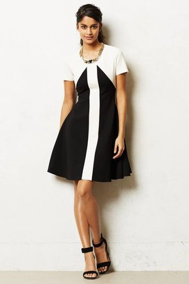 Anthropologie Marc Bouwer Made in Kind Colorblocked Ponte Dress
