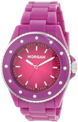 Morgan Women's M1095VP Sporty Violet Plastic Watch