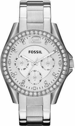 Fossil Women Riley Stainless Steel Bracelet Watch 38mm ES3202
