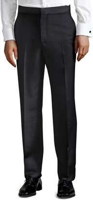 Brooks Brothers The Great Gatsby Collection High-Rise Tuxedo Trousers