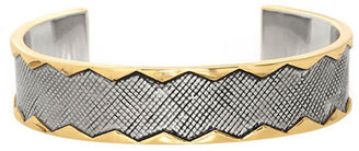 House Of Harlow Gold-Tone & Silver-Tone Cuff Bracelet