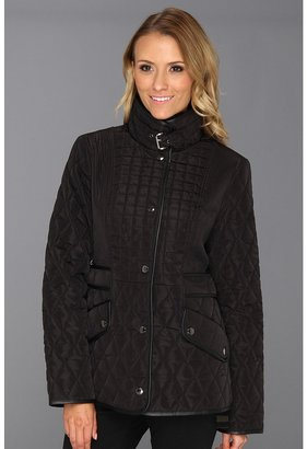 MICHAEL Michael Kors Gail Quilted Jacket M420782A (Black) - Apparel