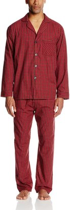 Hanes Men's Long Sleeve Leg Pajama Gift Set