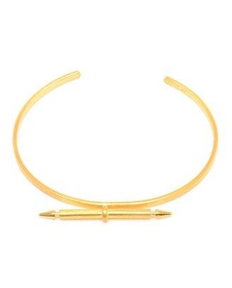 MARIA BLACK Gold-plated Sterling Silver Spear Bracelet