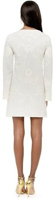 Juicy Couture Embroidered Crepe Dress