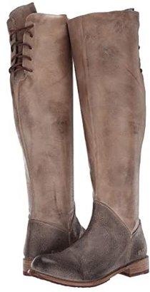 Bed Stu Manchester (Taupe Mixed Materials Dye) Women's Zip Boots