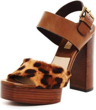See by Chloe Calf Hair Platform Sandal