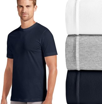 Jockey Men's 3-pk. Slim-Fit Tailored StayDry Crewneck Tees