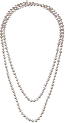 "Majorica Nuage Long Pearl Necklace, 60""L"