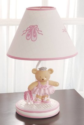 Kids Line Lamp Base And Shade - Twirling Around