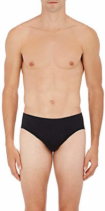 Hanro Men's Cotton Superior Briefs - Black