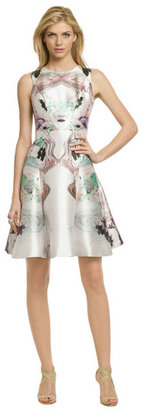 Prabal Gurung Pastel Floral Fantasy Dress