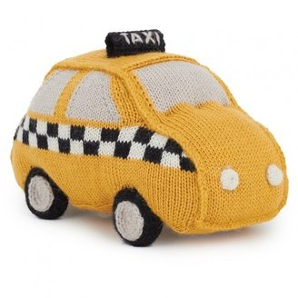 Oeuf Yellow Taxi Pillow