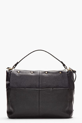 Lanvin Midnight Blue Leather For Me Double Carry Shoulder Bag