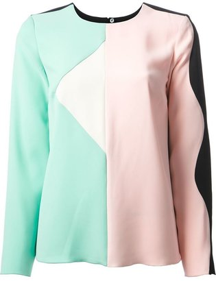 Marc by Marc Jacobs panelled blouse