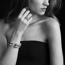 David Yurman Cable Classics Bracelet with Diamonds and White Gold