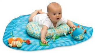 Boppy Tummy Time Play Mat in Stripe-a-dot