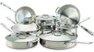 All-Clad 14-pc. Copper Core Cookware Set