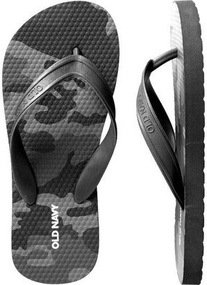 Old Navy Boys Classic Camo-Print Flip-Flops