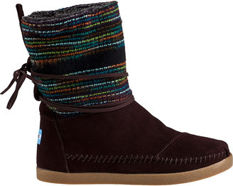 Toms Nepal Boot Black Suede