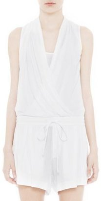 Helmut Lang Feather Jersey Romper