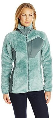 Columbia Women's Double Plush Sporty Full Zip Jacket $45 thestylecure.com