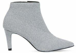 Vero Moda Glitter Point-Toe Booties