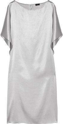 Joseph Knicks draped silk-satin dress