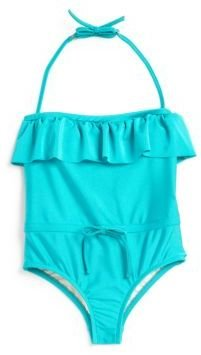 Milly Minis Toddler's & Little Girl's One-Piece Ruffled Swimsuit