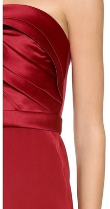 Notte by Marchesa Strapless Cocktail Dress