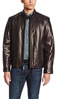 Andrew Marc Men's Sam Smooth Lamb Leather Jacket
