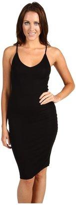 BCBGMAXAZRIA Kimmie Knit Tank Dress (Black) - Apparel