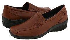Ecco Shade Slip-On (Cognac Antic Brush Off) - Footwear