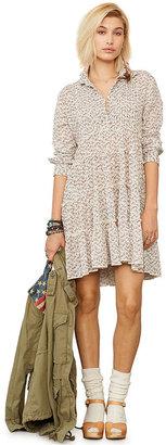 Denim & Supply Ralph Lauren Floral-Print Tiered Shirtdress