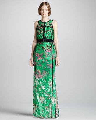 Nanette Lepore Candy Raver Floral-Print Maxi Dress
