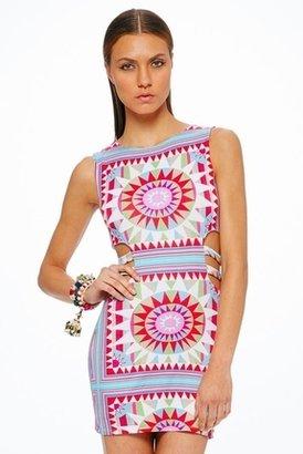 Mara Hoffman Strappy Mini Dress in Shakti White $180 thestylecure.com