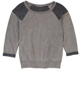 Delia's RGS Solid Fleece Sweatshirt