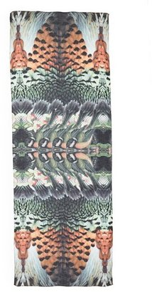 Berry Front Row Society 'Embalmed' Scarf