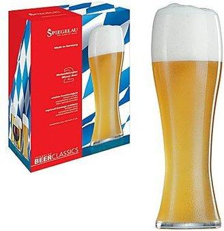 Spiegelau Beer Classics Set of 2 Wheat Beer Glasses