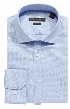 Vince Camuto Slim-Fit Printed Dress Shirt