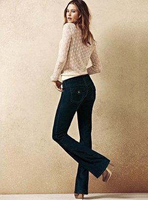Victoria's Secret Low Five Bootcut Pant in Corduroy