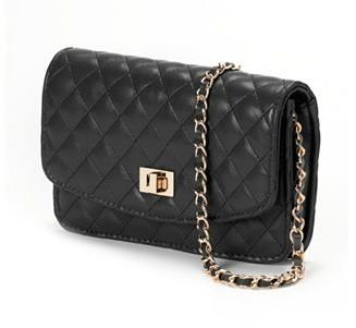 Mellow World Amanda Quilted Crossbody Wallet $39 thestylecure.com