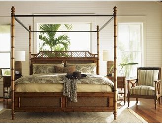 Tommy Bahama Home Island Estates Canopy Bed Home
