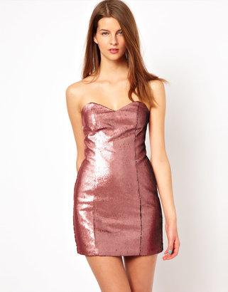 Naven Sweetheart Dress Sequin