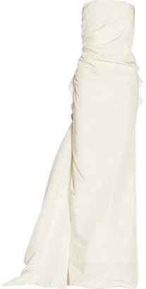 Lanvin - Silk-faille Gown - Ivory $8,600 thestylecure.com