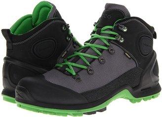 Ecco Sport - Akka Mid Lite GTX (Black/Titanium/Meadow) - Footwear
