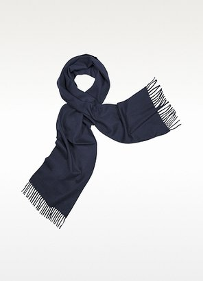 Enrico Coveri Coveri Collection Cashmere Fringed Long Scarf