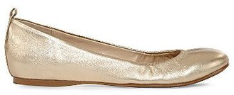 Liz Claiborne Misty Leather Slip-On Flats