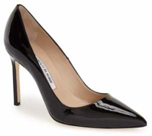 Manolo Blahnik 'BB' Pointy Toe Pump