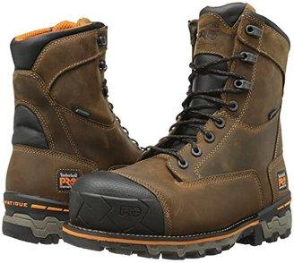 Timberland Boondock 8 Comp Toe WP (Brown) Men's Work Boots